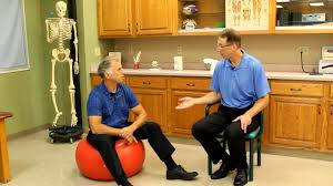 Pilates Ball Chair Size by The Correct Sizing Or Size For An Exercise Ball Physioball Or