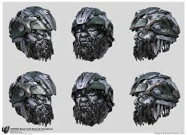 transformers hound hound head v04 vitaly bulgarov stencils variations