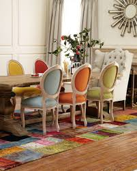 Fabric To Cover Dining Room Chairs Apartments Mix And Match Dining Chairs Design Ideas Colorful