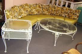 Vintage Outdoor Patio Furniture Wonderful Vintage Patio Furniture Exterior Design Photos Metal