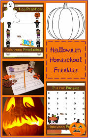 Fourth Grade Halloween Crafts Halloween Homeschooling Freebies By Subject Crystalandcomp Com