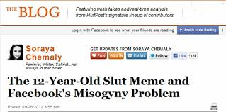 Slut Memes - huffington post the 12 year old slut meme and facebook s misogyny