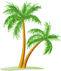 palm tree free embroidery design machine embroidery forum my