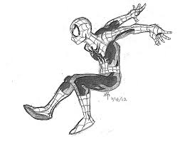 marcus patten spiderman sketches
