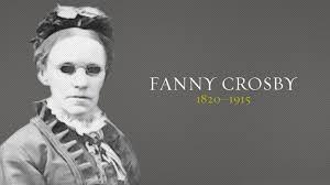 Blind Christian Crosby Christian History