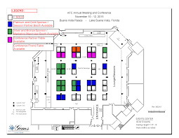 conference floor plan exhibitor service center