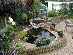 Small Back Garden Design Ideas by Very Small Back Garden Ideas Zandalus Net Yard Ponds Pond Design