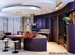 Modern Ceiling Design For Kitchen Decorations Terraced Gypsum False Ceiling Design For Modern