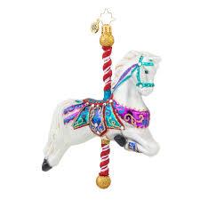 christopher radko ornaments 2015 radko merry go round ornament
