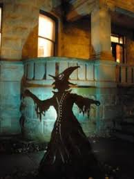 Outdoor Halloween Decorations Witches by Halloween Porch And Diy Outdoor Halloween Decorations Outdoor