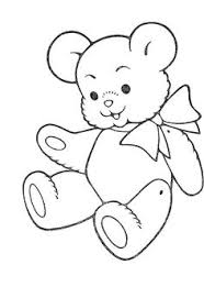 teddy bear feeling sad printable coloring pages applique