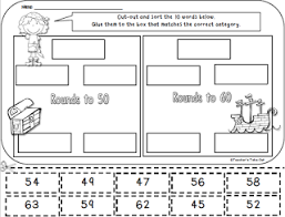 free rounding worksheets 4th grade free pirate cut and paste rounding worksheet math k 5