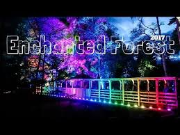 enchanted forest of light tickets the enchanted forest 2017 testing out new camera b roll a b