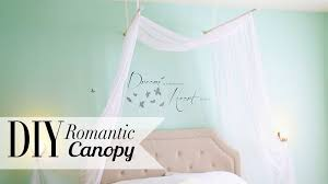 Homemade Room Decor by Diy Romantic Bedroom Canopy Room Decor Ann Le Youtube