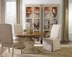 hooker furniture dining room clarice skirted chair jade white 200