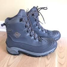 columbia mens bugaboot gray insulated snow winter hiking boots