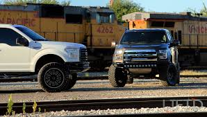 Ford F150 Trucks Lifted - father and son build jason and mike naron u0027s 2015 ford f150s