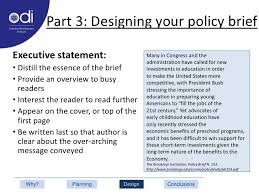 policy briefs a development research communication tool