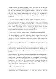 flight attendant resume cover letter images cover letter sample