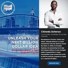 Ohio travel business images Global entrepreneur chinedu echeruo talks 1 billion apple deal at png