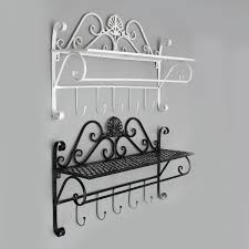 Wrought Iron Bathroom Accessories by Aliexpress Com Buy Wrought Iron Wall Towel Rack Shelf Bathroom