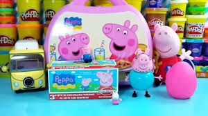 Peppa Pig Play Doh Kinder Eggs Peppa Pig Egg Play Doh Toys
