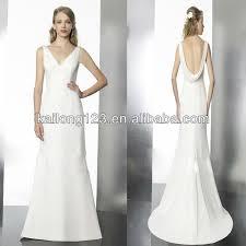 aliexpress com buy brand new v neck sleeveless sheath sweep