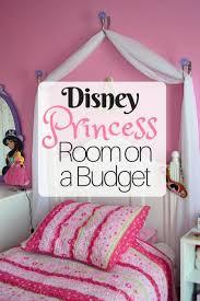 Disney Princess Canopy Bed Creating A Disney Princess Room On A Budget Disney Insider Tips