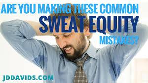 sweat equity smartmoney startups