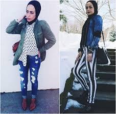 tutorial hijab noura hijab style gaya stylish untuk hangout ala noura wanita asal amerika