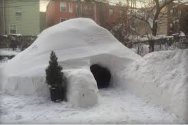 How To Build An Igloo In Your Backyard - enterprising brooklynite offers up backyard igloo on airbnb mnn