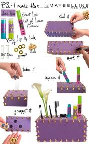 How To Make A Bedroom Vanity 14 Diy Makeup Organizer Ideas That Are So Much Prettier Than Those