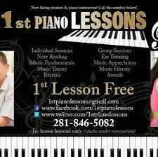 ad un piano 1st piano lessons