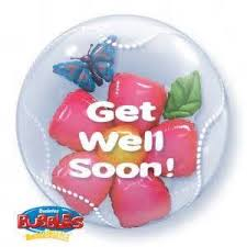 balloon boquet delivery you re feeling better balloon bouquet delivery
