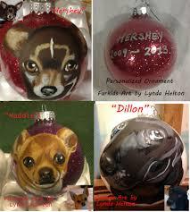 pet portrait ornaments lynda helton