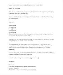 thank you letter to recruiter u2013 10 free word excel pdf format