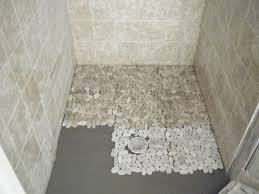 best 25 stone shower floor ideas on pinterest pebble tile