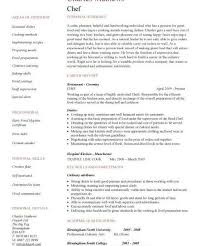 winning cook resume examples chef sample sous jobs free template
