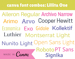 canva font pairing canva fonts scroll no more enterprise by design