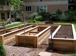 How To Build A Planter by Garden Planter Box Planter Boxes Standing Height Cedar Raised