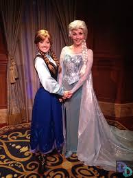 pics anna elsa u0027s debut magic kingdom