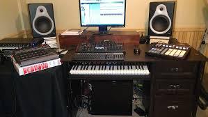 Studio Production Desk by Music Production Desk Ideas Best Home Furniture Decoration