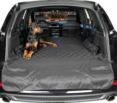 Audi Q5 Dog Guard - small suv cargo covers for dogs grey cargo liners small grey
