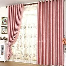 Pink And Gray Curtains Outstanding Pink Bedroom Curtains U2013 Muarju