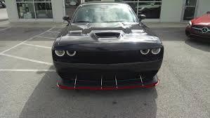 Dodge Challenger Front Bumper - apr carbon fiber front splitters srt hellcat forum