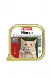 beaphar kidney diet taurin complete diet feed for cats