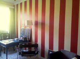 Red Feature Wall In Bedroom Modern And Attractive Grey Apartment In Rome Red Gray Wall Paint