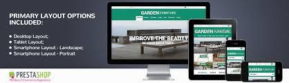 Chair Website Design Ideas Website Template 52479 Garden Outdoor Furniture Custom Website