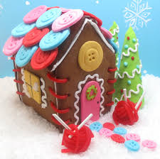 sewing cottage gingerbread house gingerbread christmas
