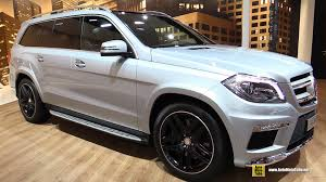 2016 mercedes gl500 4matic exterior and interior walkaround